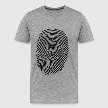finger print - Men's Premium T-Shirt
