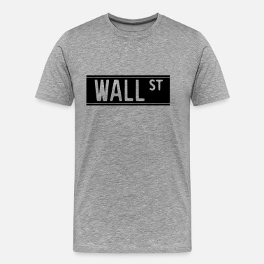 Occupy Wall Street Wall Street 1 - Camiseta premium hombre