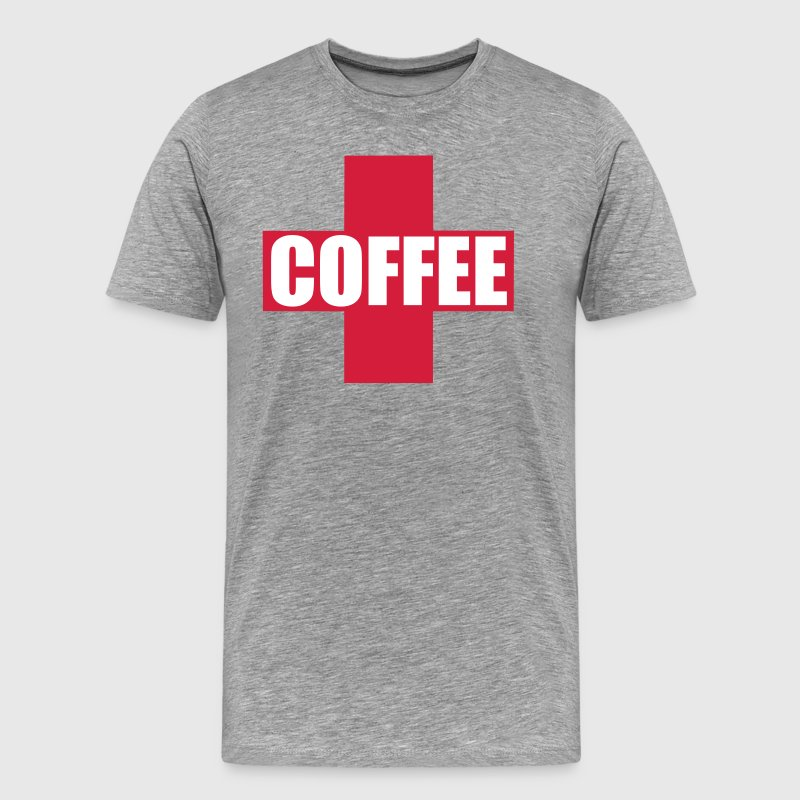 First Aid Coffee - Men's Premium T-Shirt