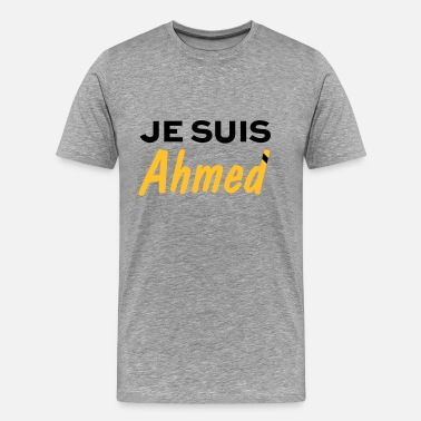 JE SUIS AHMED - Men's Premium T-Shirt