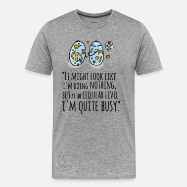 Doktor It Might Look Like I'm Doing Nothing... - Männer Premium T-Shirt