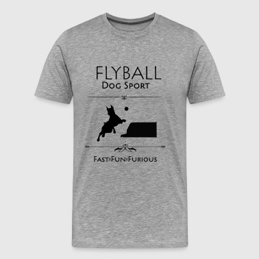 Fast And Furious Flyball Fast Fun Furious - Men's Premium T-Shirt