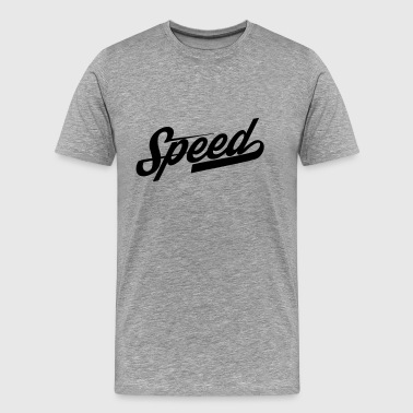 speed - Männer Premium T-Shirt