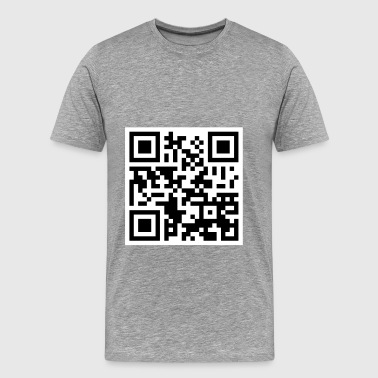 Offensive QR Code - Men's Premium T-Shirt