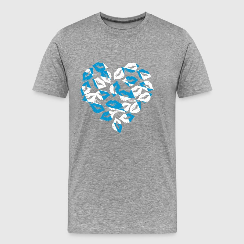 From Bavaria with love - Männer Premium T-Shirt