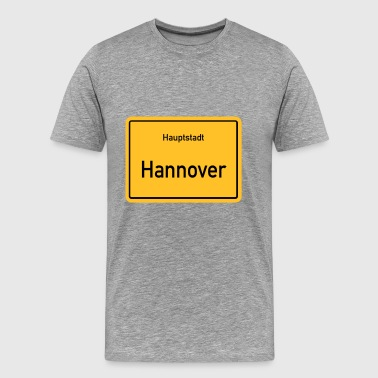 City of Hannover - Premium-T-shirt herr