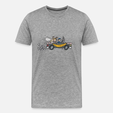 Voyage De Noces Lune de miel Just Married - T-shirt Premium Homme