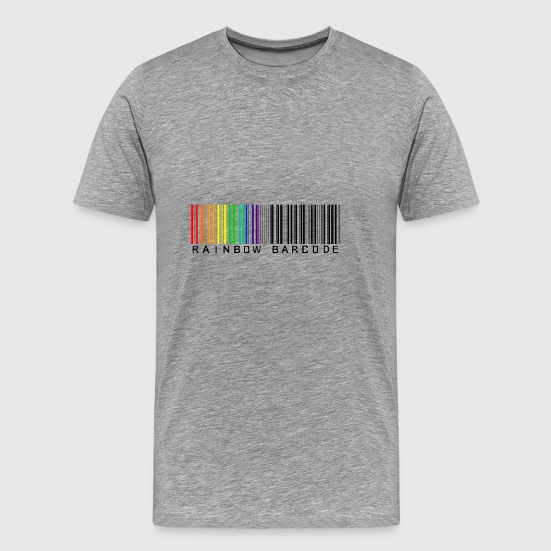 Rainbow barcode - Men's Premium T-Shirt
