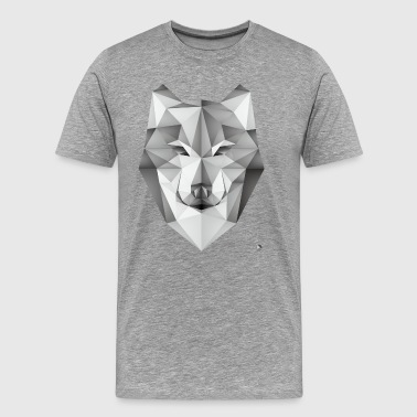 Ethnic AD Geometric Wolf - Men's Premium T-Shirt