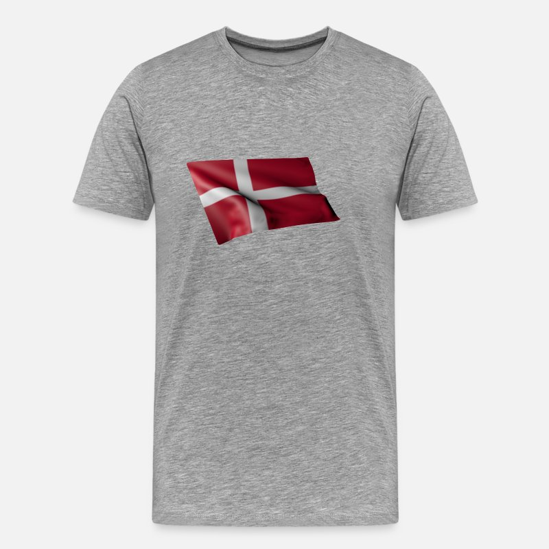 Norway T-Shirts - norway - Men's Premium T-Shirt heather grey