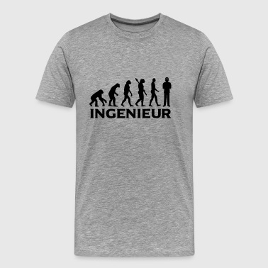 evolution INGENIEUR BlackText - Männer Premium T-Shirt