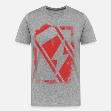 Energizing energized (red) - Men's Premium T-Shirt