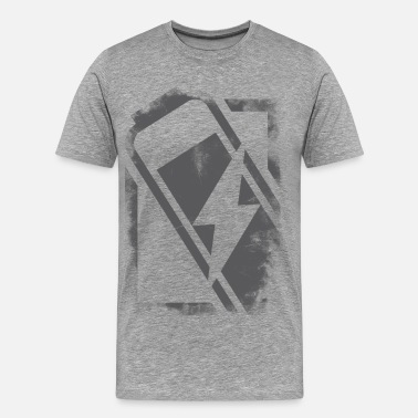 Energizing energized (grey) - Men's Premium T-Shirt
