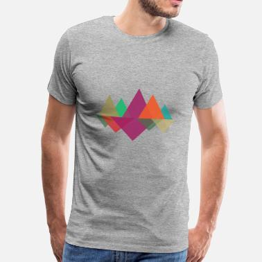 Hipster Hipster Mountains - Camiseta premium hombre