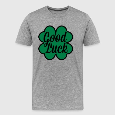 Good Luck Cloverleaf - Männer Premium T-Shirt