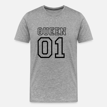 Relatie PARTNERSHIRT - QUEEN 01 - Mannen Premium T-shirt