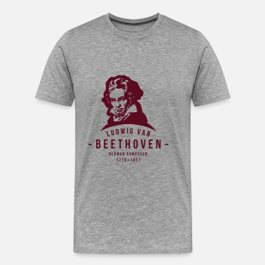 Van Beethoven Ludwig van Beethoven, Classical, Music - Men's Premium T-Shirt
