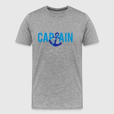 Captain Anchor Captain Anchor Logo - Männer Premium T-Shirt