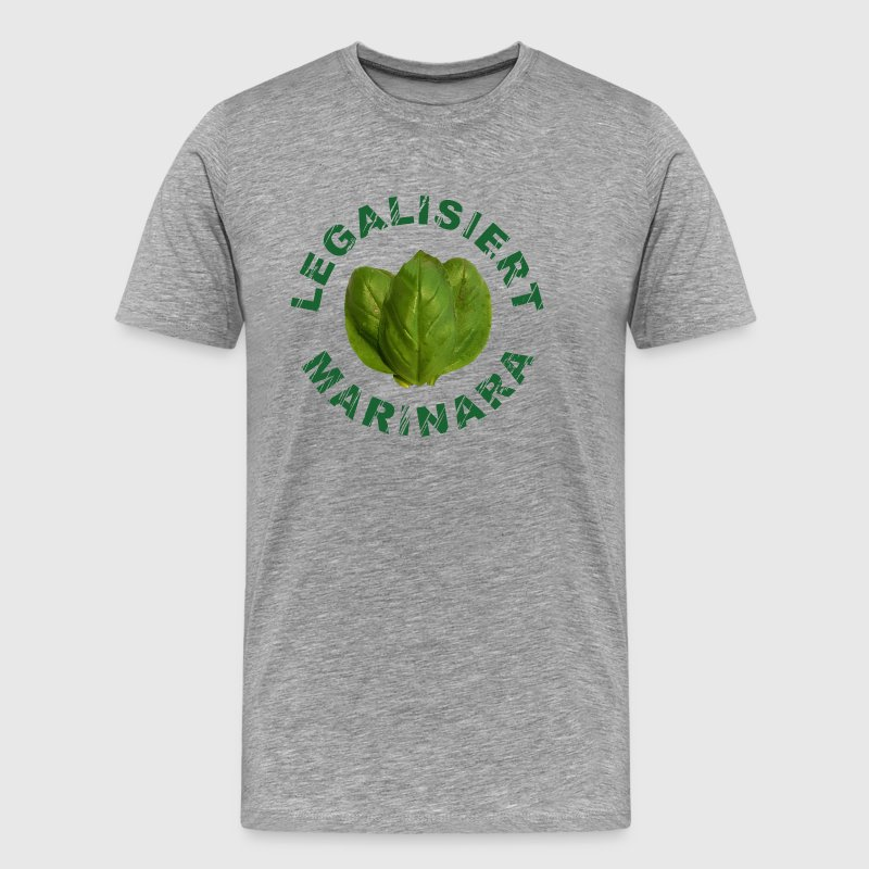 Legalized marinara - Men's Premium T-Shirt