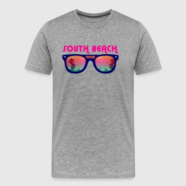South Beach Miami - T-shirt Premium Homme