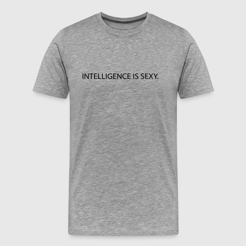 intelligence is sexy - Men's Premium T-Shirt