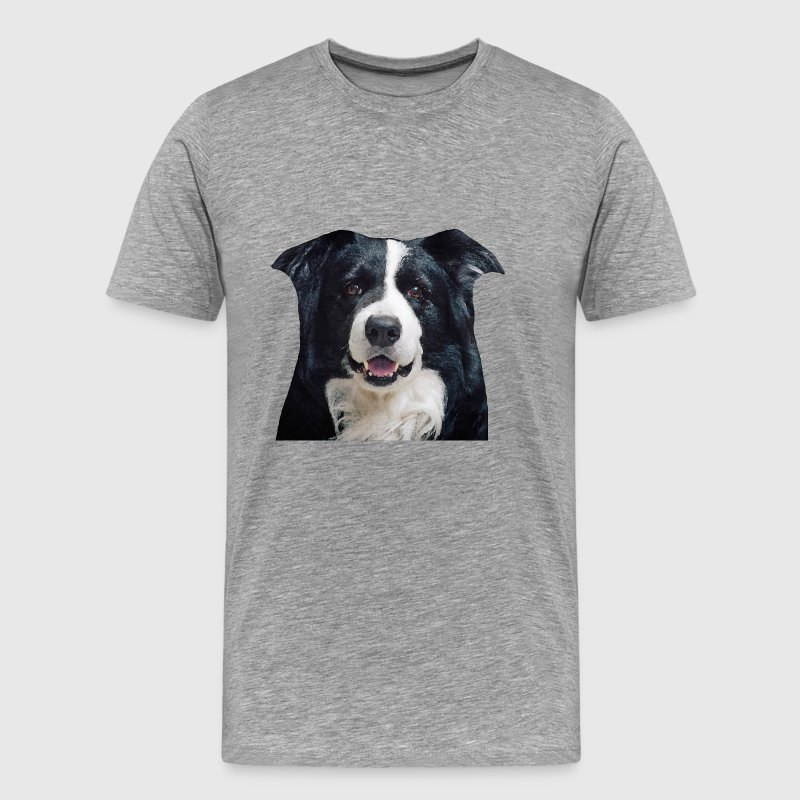 Border Collie - T-shirt Premium Homme