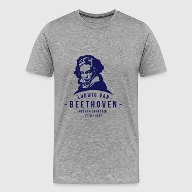 Classical Music Ludwig van Beethoven, Classical, Music - Men's Premium T-Shirt