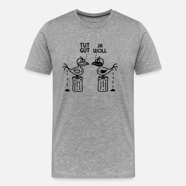 Do Epic Shit Poo - kak vogels - Mannen Premium T-shirt