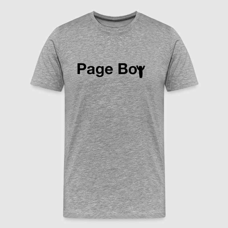page boy  - Men's Premium T-Shirt