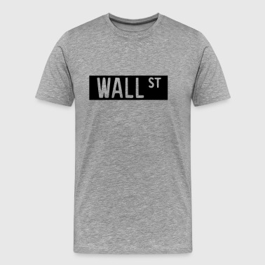 Wall Street 2 - Premium T-skjorte for menn