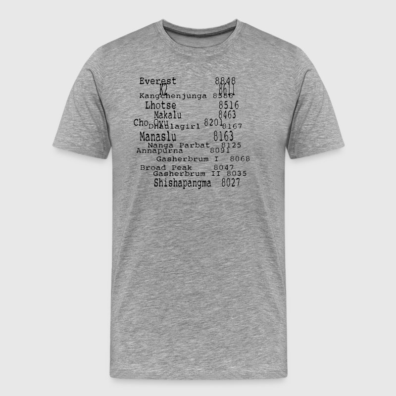 The Eight Thousands - Men's Premium T-Shirt