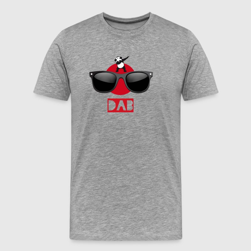 Panda sun dab it dabbing Dance Football touchdown - Men's Premium T-Shirt