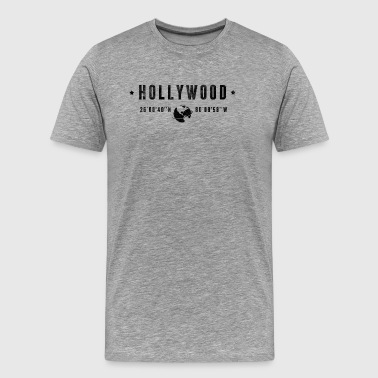 Hollywood - Herre premium T-shirt