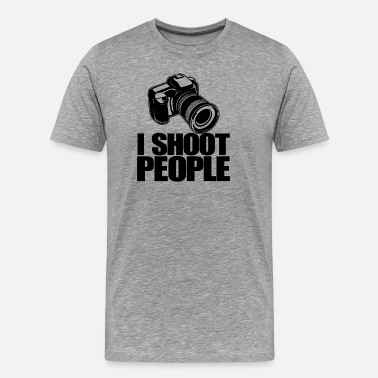 Slr SLR camera photographer gift idea - Men's Premium T-Shirt