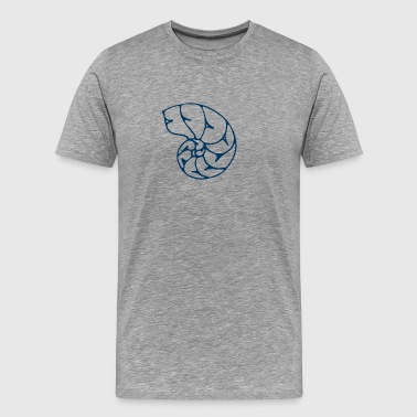 Waste Ocean shell - Men's Premium T-Shirt