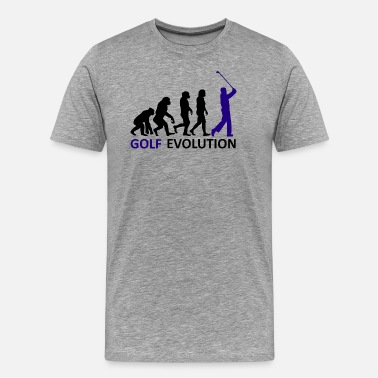 Golf ++ ++ Golf Evolution - Men's Premium T-Shirt