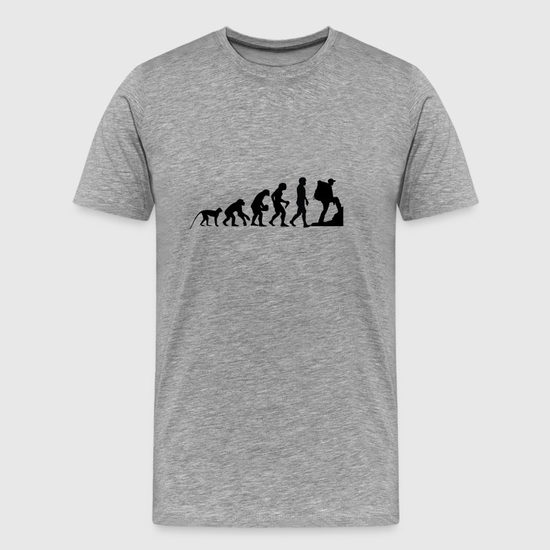 I love hiking - Männer Premium T-Shirt