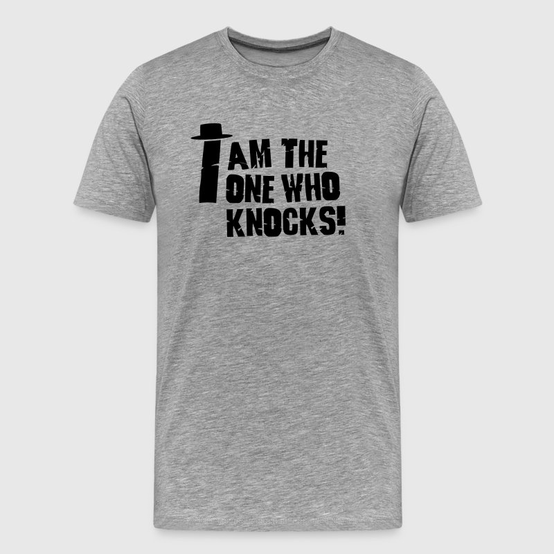 I am the one who knocks / i'm the one who knocks - Camiseta premium hombre