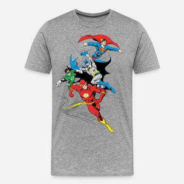 Batman Superhelden DC Comics Originals  Gruppe - Männer Premium T-Shirt