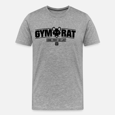 Gym Rats GYM RAT FITNESSWEAR - Men's Premium T-Shirt