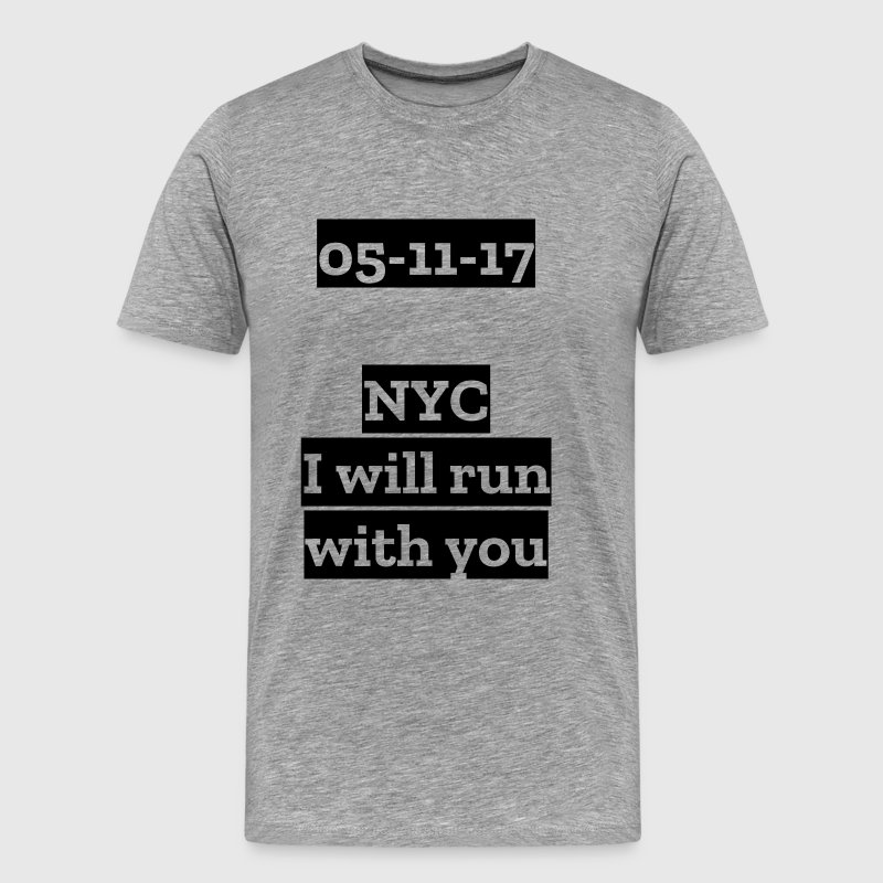 New York City Marathon 2017 - T-shirt Premium Homme
