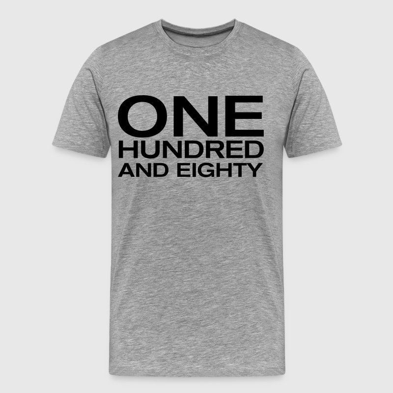 one hundred and eighty Darts - Mannen Premium T-shirt