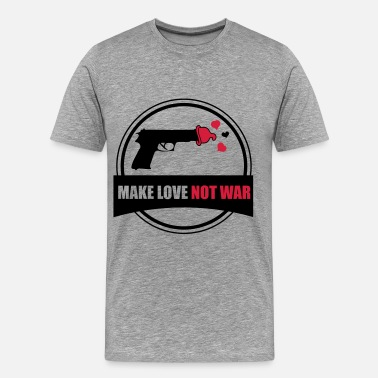 War make love not war - Mannen Premium T-shirt