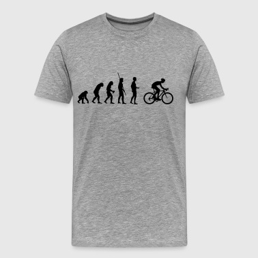 Time Trial Evolution Racing - Men's Premium T-Shirt