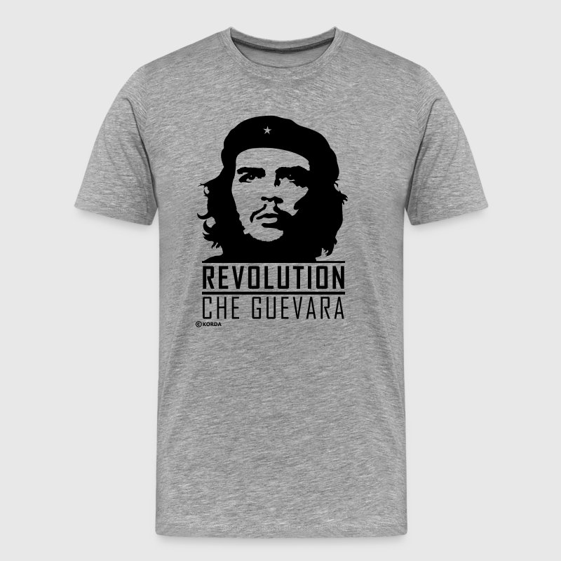 Che Guevara Revolution Flex 2 Men T-Shirt - Mannen Premium T-shirt