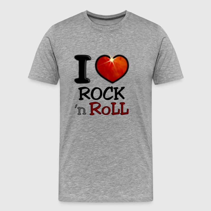 I Love Rock N Roll - Men's Premium T-Shirt