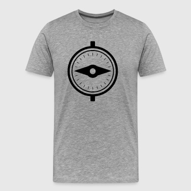 Outdoor · Camping · Compass · Geocaching - Men's Premium T-Shirt