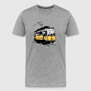 Tram historique / historic Tram  - Men's Premium T-Shirt