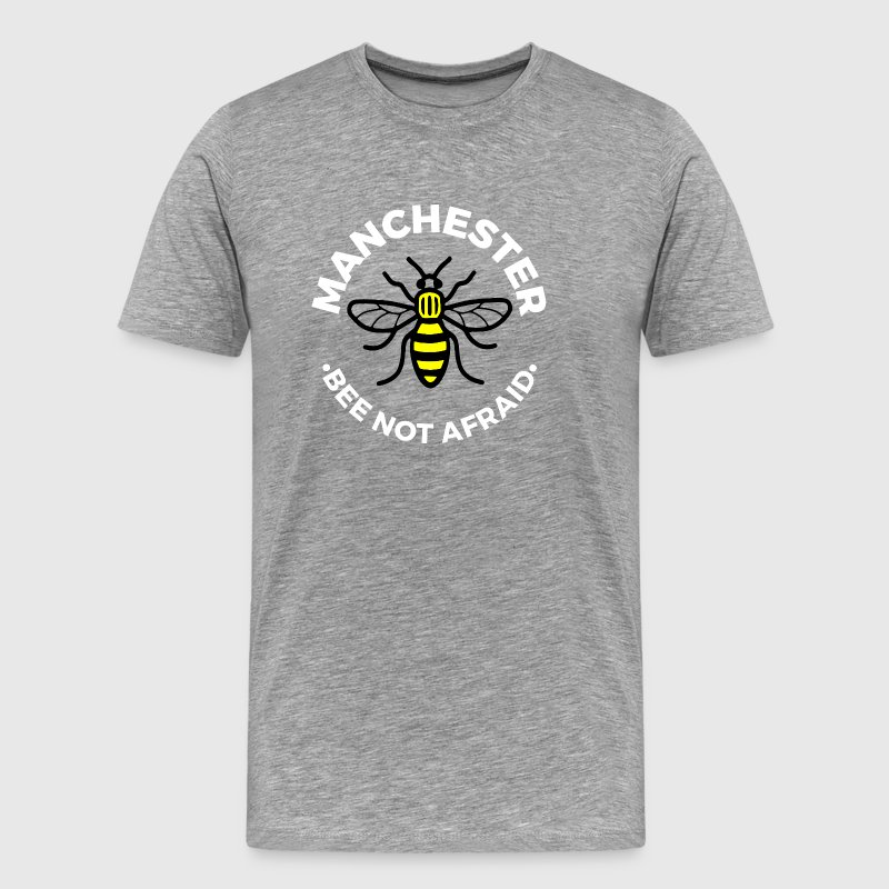 Manchester - Bee Not Afraid - Men's Premium T-Shirt