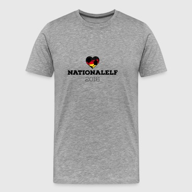 EM 2016 Nationalelf Germany - Herre premium T-shirt